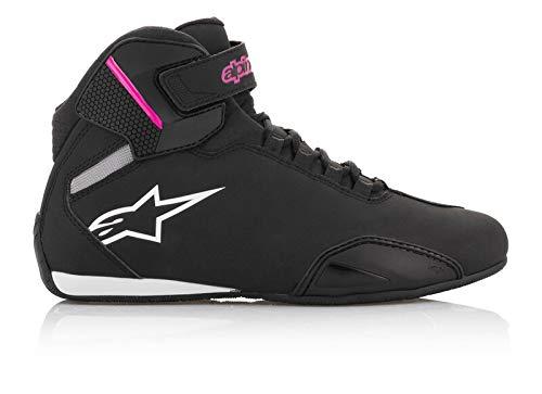 SHIMA SX-6 Vented Chaussures de Moto en Cuir Sport pour Homme